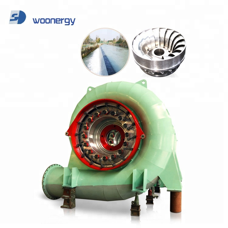 China High Quality Stainless Steel Francis Water Turbine Wheel And Water Turbine Generator/Hydropower Plant