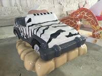 Kids Playground Creative Element - Interactive Car; Foam Sculpture ...