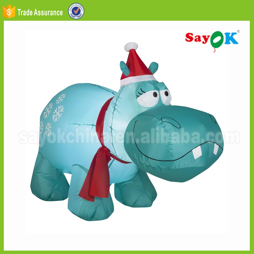 inflatable christmas hippo inflatable christmas hippo suppliers