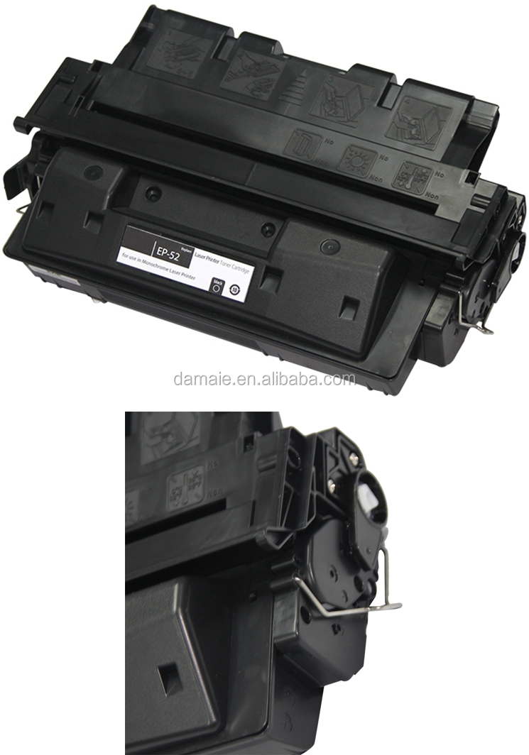 EP52 High proformance Black Toner Cartridge Compatible For Canon LBP-1660/1760/P370/52X