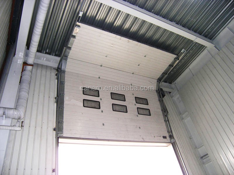 Standard lifting industrial section door