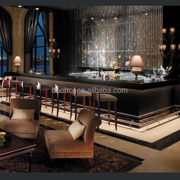 Modern style led light bar counter commercial bar for Commercial wine bar design ideas