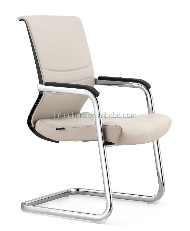 Low price leather office visitor chair for office reception