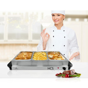 Hotel kitchen buffet food container hot food warmer server/hotel buffet table