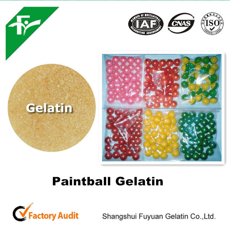 200 flor gelatina, paintball china de gelatina