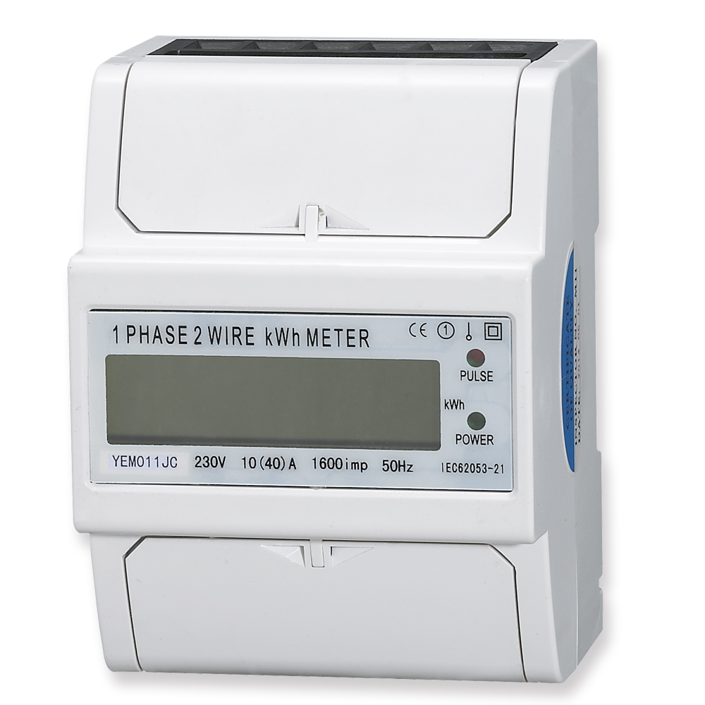 induction type energy meter Out of the above, motor meters are very widely used and among motor meters also induction type watt-hour meters are more commonly used and will be dealt with here single phase induction type energy meter working explained including constructional details.