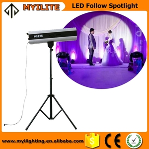 Super beam 440W LED follow spotlight for stage wedding