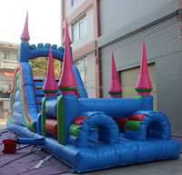 Outdoor event inflatable castle obstacle course,obstacle course for adult and kids