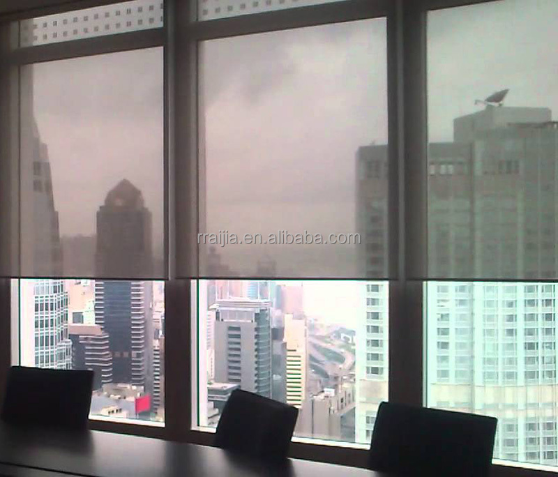 roll up window one way fabric screen roller blinds buy. Black Bedroom Furniture Sets. Home Design Ideas