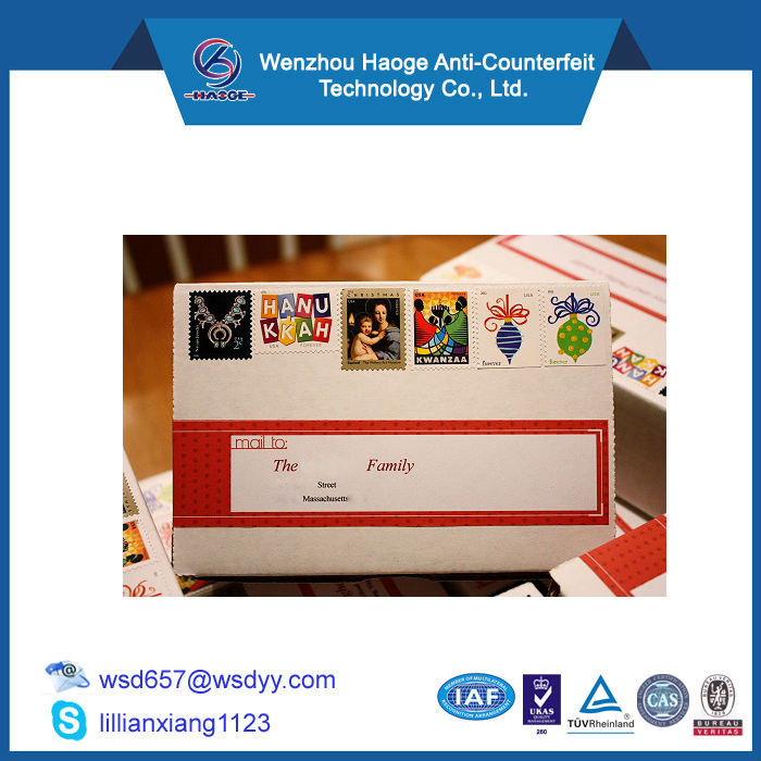 Custom Printed Mail postage labels