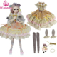 UCanaan 1/3 SD BJD Doll Clothes Include Dress headdress Stocking BJD Clothes Dresses for Dolls 1/3 Fashion Doll's Accessories