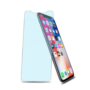 Anti Blue Light Filter Anti Glare Screen Protector Tempered Glass for iPhone 6 7 8 Plus X XR XS MAX