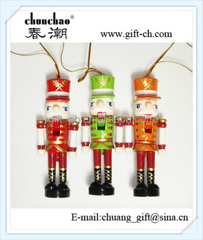 wooden soldier nutcracker toy for christmas decoration - Christmas Decorations Wooden Soldiers