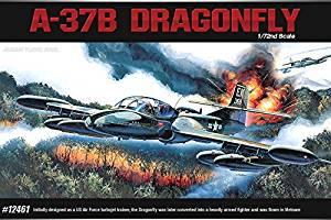 Academy Aircraft Hobby Decal 1/72 Scale Plastic Model Kit A-37B Dragonfly #12461 /ITEM#G839GJ UY-W8EHF3160773