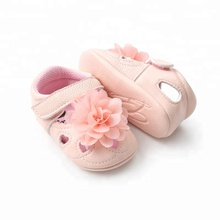 WONBO flower style baby girls shoes infants soft sole toddler moccasins Breathable PU leather summer baby shoes for girls