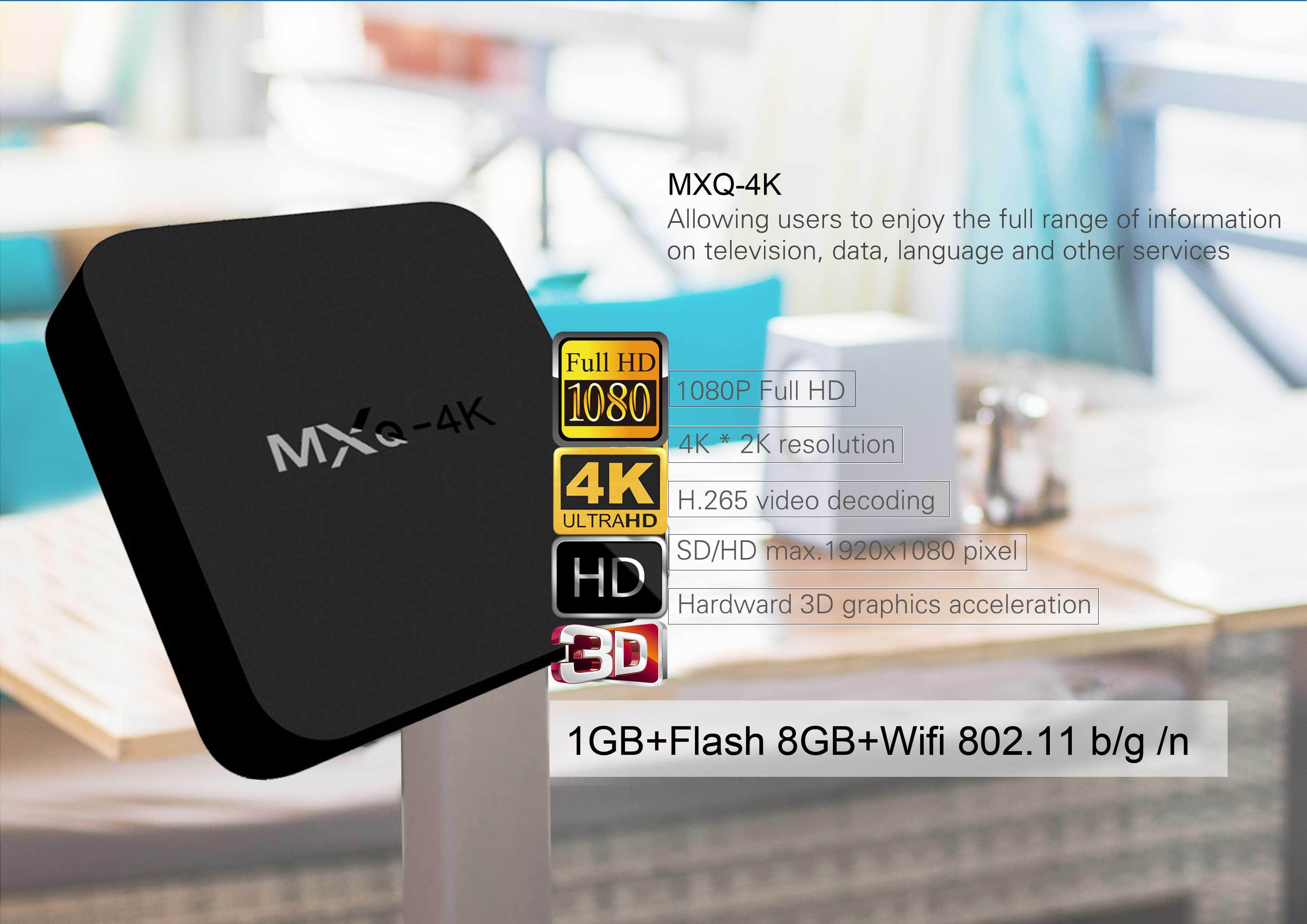 Mxq 4k France Canada Dubai Japan Spain India Brazil Italy Australia Mexico  Android Iptv Stb Set Top Box - Buy Usa Uk Germany Ott Xmbc Wifi 2 4g Kodi