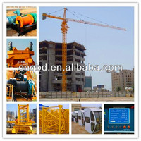 QTZ56 high efficiency self rising tower crane