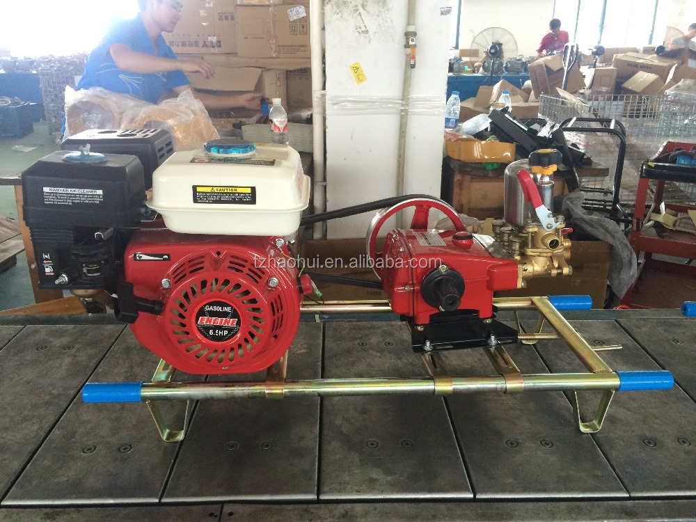 agriculture battery sprayer pump,22 power sprayer with 6.5HP engine