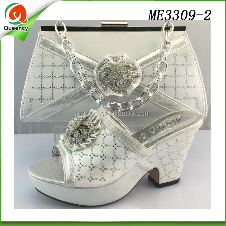 matching shoe low crystal heels women wedge summer handbag shoes BpqnXHfY