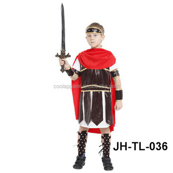 children roman warrior little soldier clothing sets fancy halloween costume