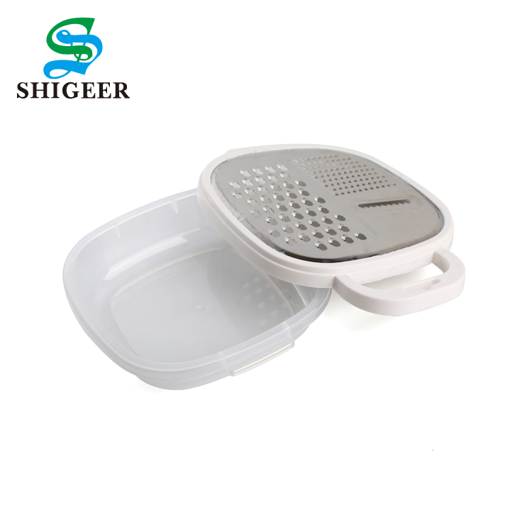 Customized Multifunctional Kitchen Accessories Manual White Colour Vegetable Peeler Grater