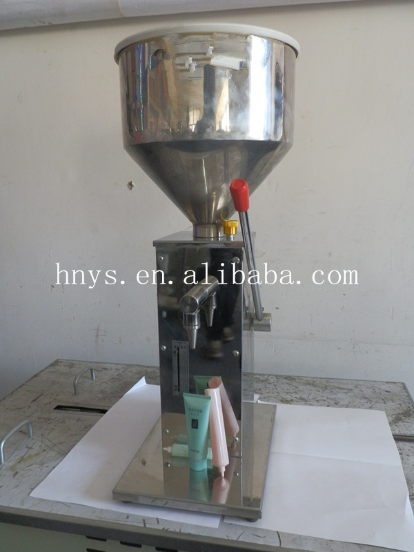 Manual small color paint filling machine