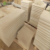 Yellow beige sandstone for steps/Vanity tops/baluster/fireplace