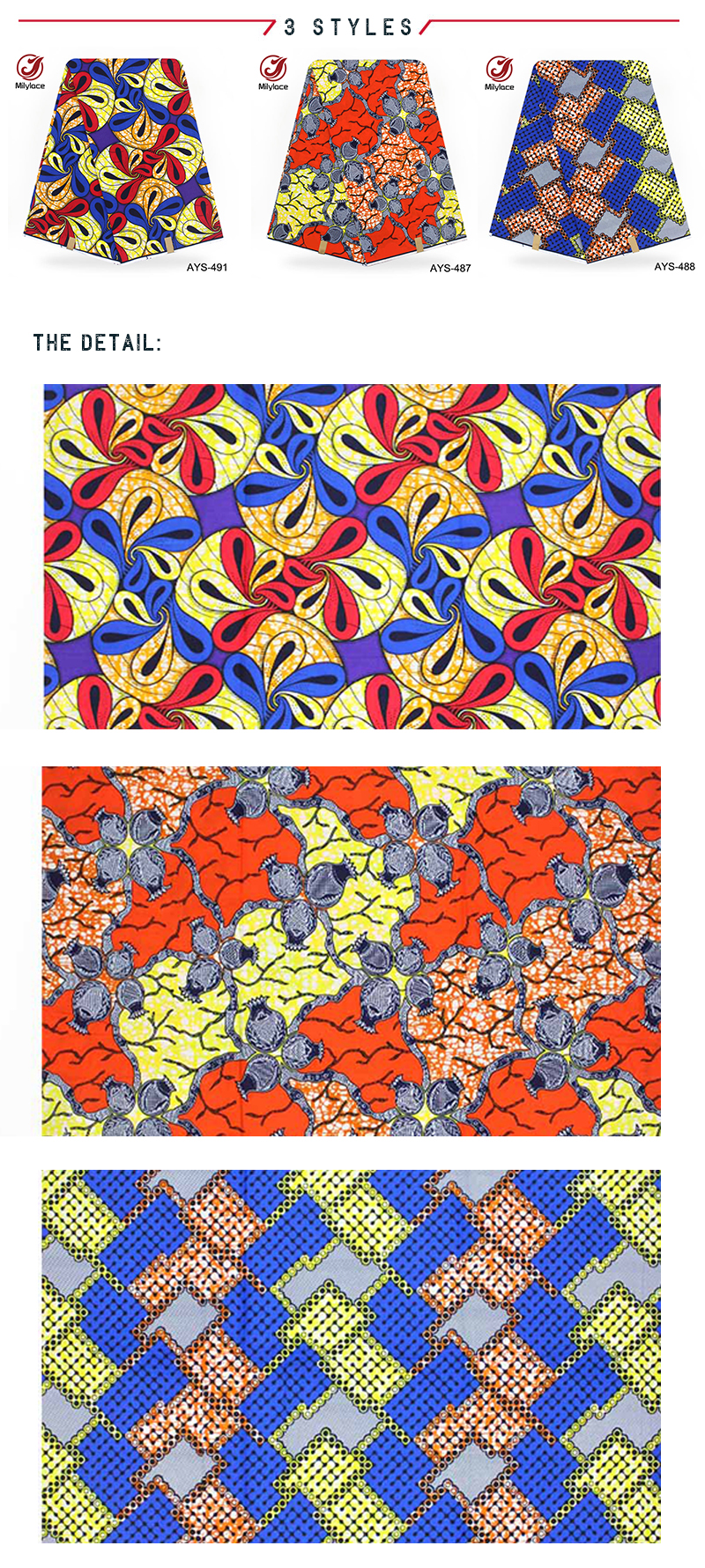 2019 Ankara fabric classical holland textile material african wax prints fabric
