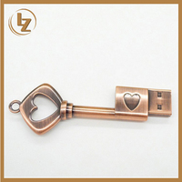Creative Chinese Style Custom Gift Heart Shape USB Flash Drive 8GB 16GB