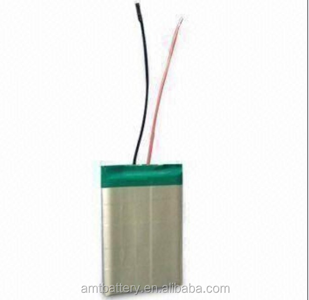 Li-polymer Battery for food truck 7.4V 5000mAh,with UL/CE/UN38.3 cert.