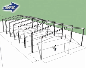 One Stop Steel Frame Poultry Farm Chicken Warehouse Construction