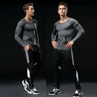 Fashion Style OEM Manufacturers Men Sports Running Pants Pockets Athletic Training Sport Pants Elasticity Gym Pants