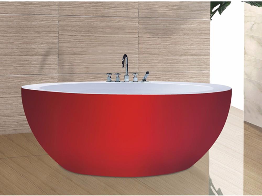 Vasca Da Bagno Rossa : C b vasca rotonda ofuro vasche da bagno in colore rosso moderno