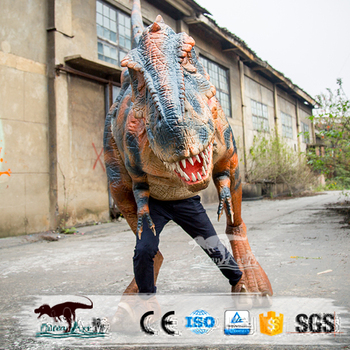 adult life size dinosaur halloween costumes t rex costume
