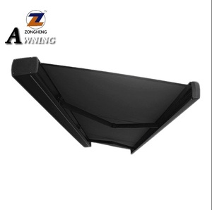 High Quality Wholesale Custom Cheap free standing awning for sunshade garden free standing awning plastic awning With ISO9001