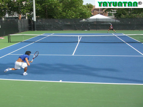 Tennis court paint buy portable tennis court sports for Sport court paint