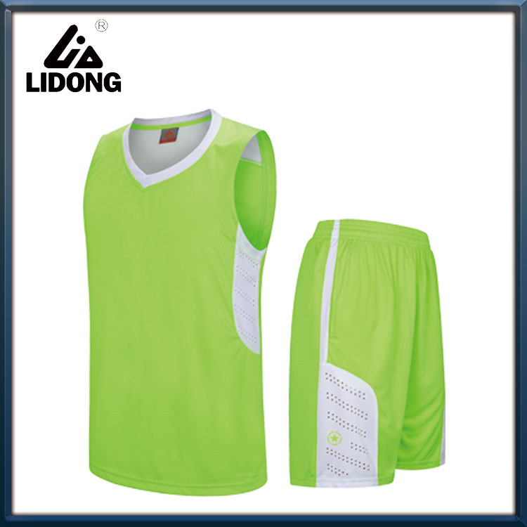 basketball uniforms sublimation reversible jersey design color blue basketball jersey