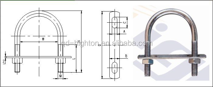 ss u bolt specifications with cheap price
