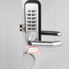 New Design Zinc Alloy Material Digital Mechanical Code Door Lock