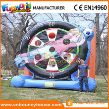 Soccer inflatable football darts giant inflatable dart board