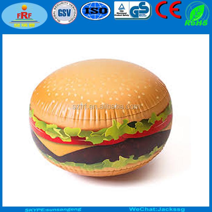 Pvc aufblasbares cheeseburger schlauchboot hamburger for Aufblasbares schwimmbecken angebote