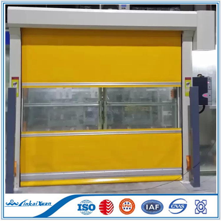 Finished Surface Finishing and cheap Plastic Door Material rolling up door