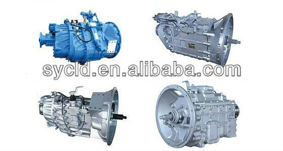 FAST transmission gearbox assy with power take off