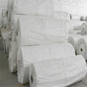 wholesale packages industry printed lamination cheap white polypropylene woven tubular fabric roll material for making bags