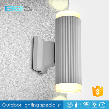Exterior Led Wall Lighting Modern Outdoor Wall Light Up Down Led Wall Lamp For Garden Outdoor Wall Surface Mounted Light 320270 Buy Outdoor Wall