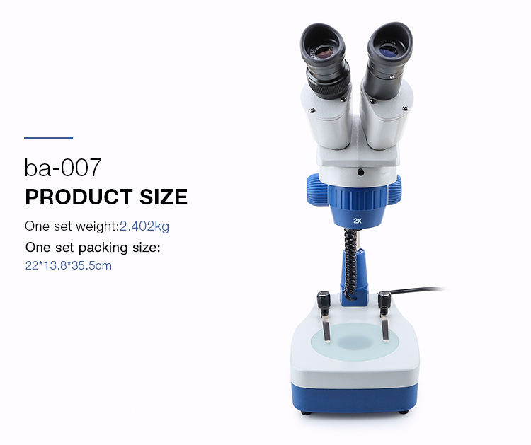 BAKU ba 007 portable binocular scanning electron repair mobile phone digital microscope