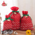 Huadefeng Christmas Hot Sales Christmas Funny Drawstring Gift Bags Wholesale