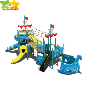 Pirate ship design outdoor play ground play for kids