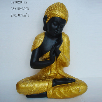 Home Decoration Resin Buddha Lady Statues