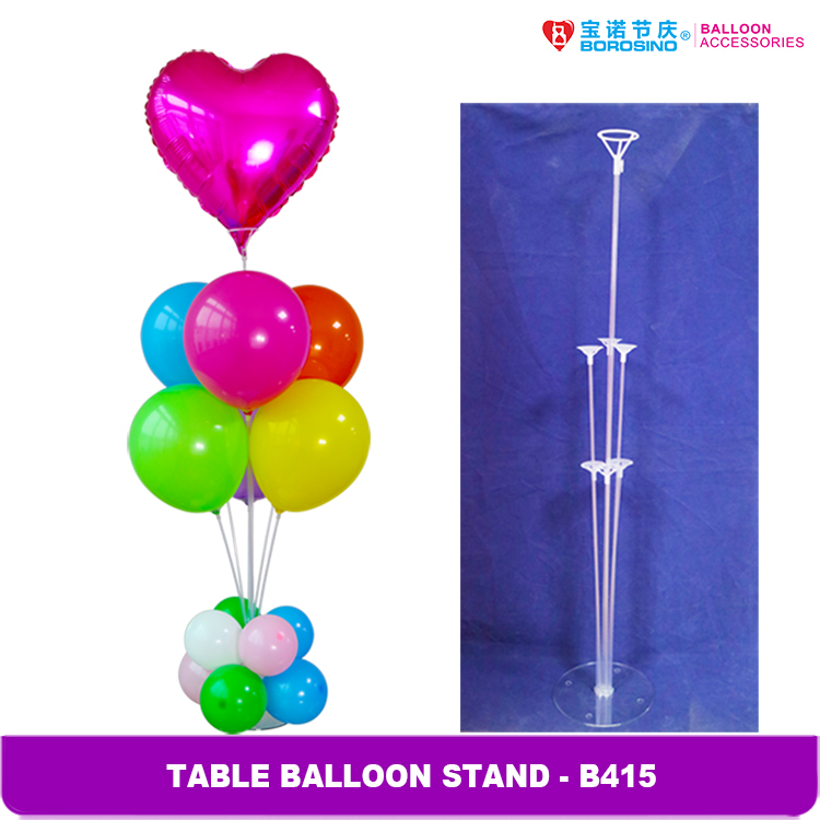Birthday party decoration centerpiece balloon stand